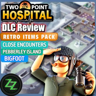 Two Point Hospital DLC Test (Review Deutsch) Bigfoot - Pebberly Island - Close Encounters