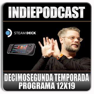 Indiepodcast 12x19 'Steam Deck y Cory Balrog'