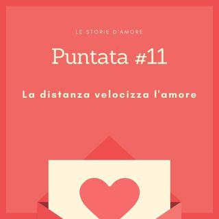 La distanza velocizza l'amore