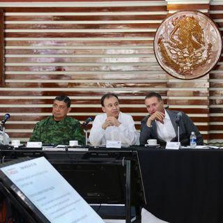 Confirma Alfonso Durazo detención de papá de El Marro