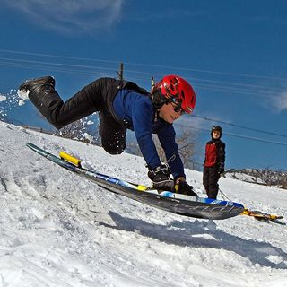 Sledding is Not for Wimps