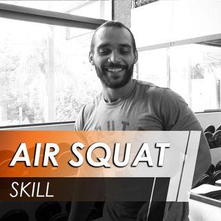 Como fazer um agachamento livre (Air squat) [Skill]