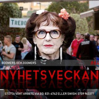 Nyhetsveckan #84 – Boomers och zoomers, sjukskrivna poliser, sataniska abortlagar