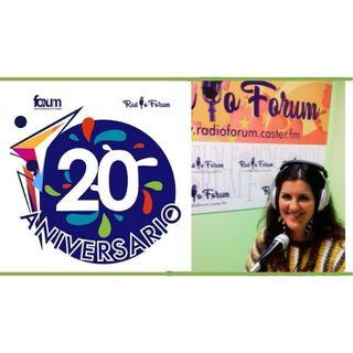 20 AÑOS FORUM ANDALUCÍA: Irene Domínguez M., diseñadora gráfica y su propia jefa