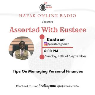 Assorted with Eustace - Tips on Managing finances