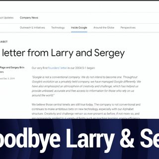 Farewell, Larry and Sergei | TWiT Bits