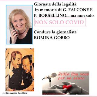 RUBRICA NON SOLO COVID: La giornata della legalità in memoria di Falcone e Borsellino - Riflessione