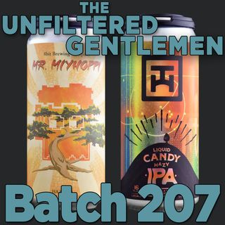 Batch207: 8 bit Brewing Mr. Miyhoppi & Tarantula Hill Liquid Candy Hazy IPA