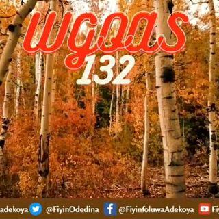 Worshiping God On A Saturday 132 (WGOAS132)