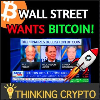 Wall Street Wants BITCOIN As The Crypto Bull Market Heats Up - Coinbase MicroStrategy Bitcoin Investment