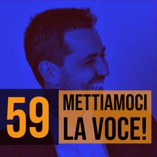 59 - Leggere in pubblico a voce alta con Patrick Facciolo