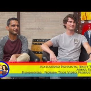 AstroBiology to Filmmaking! A Florida Tech Video Production interview on the Hangin With Web Show