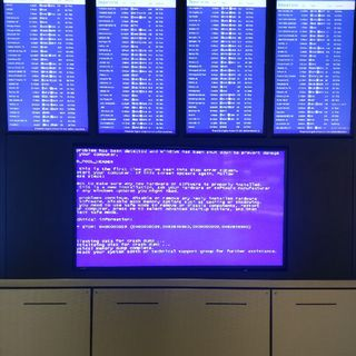 Stop Error At The Airport (Take 2)