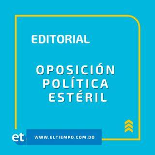Oposición política estéril