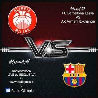 Giornata 21 Eurolega: Barcelona vs Olimpia Milano