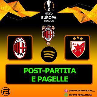 MILAN-STELLA ROSSA 1-1 | PAGELLE e POST PARTITA