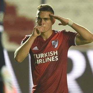 Gol de River: Rafael Santos Borre 2-4