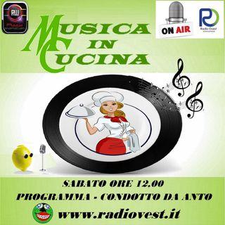 MusicaInCucina 20 giugno RadioOvest