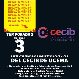 47 - Presentamos las propuestas académicas del CECIB de la Universidad del CEMA