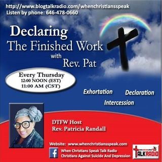 """Inner Life versus Outer Life"" Pt 2 - Declaring The Finished Work (REPLAY)"