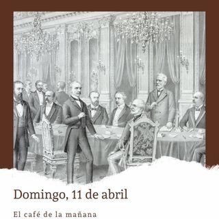 Domingo, 11 de abril. España entrega Puerto Rico, Guam y Filipinas