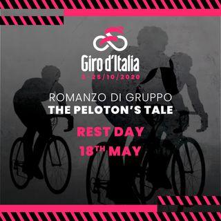 #RomanzodiGruppo   #ThePelotonsTale   RestDay #1