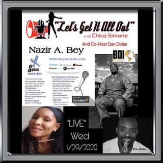 Special Guest Nazir Al-Din-Bey with BDI, LLC!