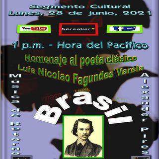 Homenaje a Luis Nicolau Fagundes Varela * Brasil + Música interpretada por Alexander Pires * Brasil