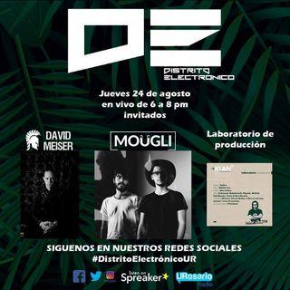 Manglar electrónico con Moügli y mucho Techno con David Meiser