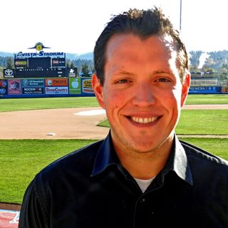 Ep. 571 - Dustin Toms (PR Director, Spokane Indians)