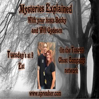 Mysteries Explained w/ Becky & Will with special guest host welcome Marc Oxenstierna