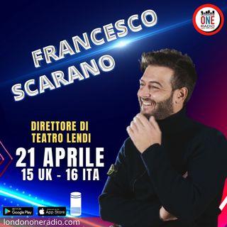 Italia, riapertura teatri: ne parla Francesco Scarano direttore Teatro Lendi
