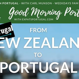 From New Zealand to Portugal with Project Frugal | The Good Morning Portugal Show!