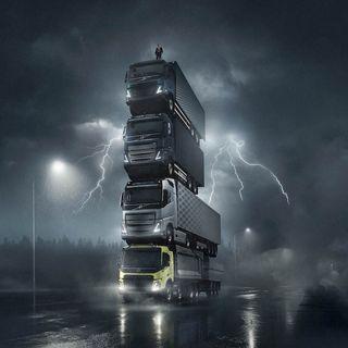 Puntata 44/2020 del 12 marzo - Ospite: Claudio Sivilotti (Volvo Trucks) - Un poker di camion