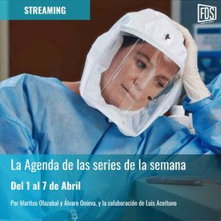 Streaming: Agenda de series del 1 al 7 de abril