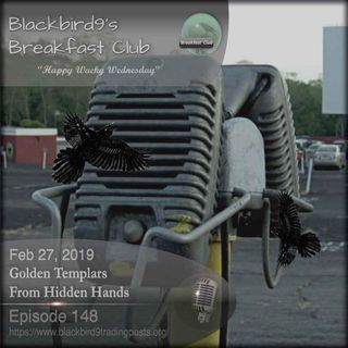 Golden Templars From Hidden Hands - Blackbird9 Podcast