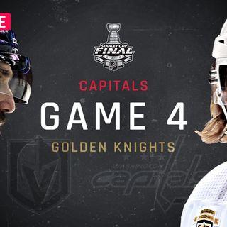 LIve-N-FIve Episode #23 2018 Stanley Cup Final Game 4 Recap