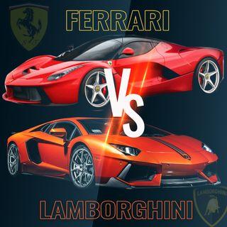 Ferrari VS Lamborghini 🚗