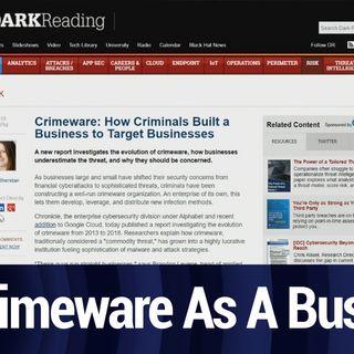 Crimeware As A Business Model | TWiT Bits