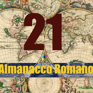 Almanacco romano - 21 agosto