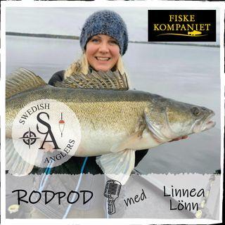 Swedish Anglers RodPod avsnitt 25 med Linnea Lönn