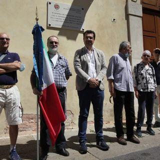 Posate al Teatro Olimpico e a S. Michele le lapidi in memoria dei deportati dal nazifascismo