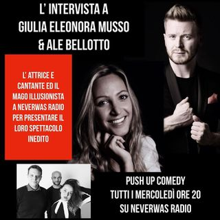 #puc : in studio con noi Giulia Eleonora Musso & Ale Bellotto