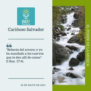 18 de mayo - Cariñoso Salvador - Devocional de Jóvenes - Etiquetas Para Reflexionar