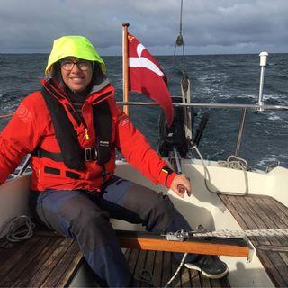 Ingeborg sejler vikingeskib i Grønland - 15.2021