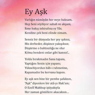 Ey Aşk - 1 / 2018 Haziran