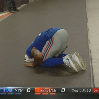 01 Odell Beckham's injury and the NFL as Reality TV