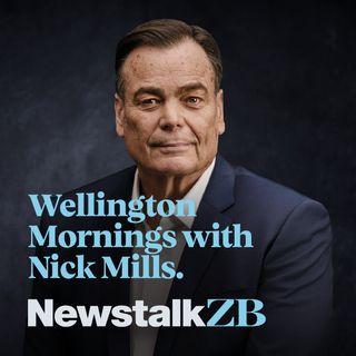 Wellington Mornings with Nick Mills