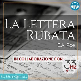 LA LETTERA RUBATA • E A Poe ☎ Audioracconto ☎ Storie per Notti Insonni ☎