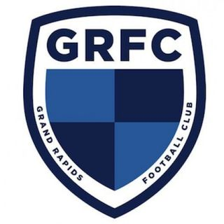 GRFC Head Coach Lewis Robinson and Midfielder George Jermy